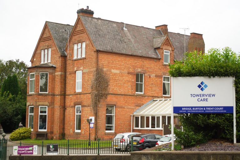 Bridge, Burton and Trent Court specialist dementia and mental health care home