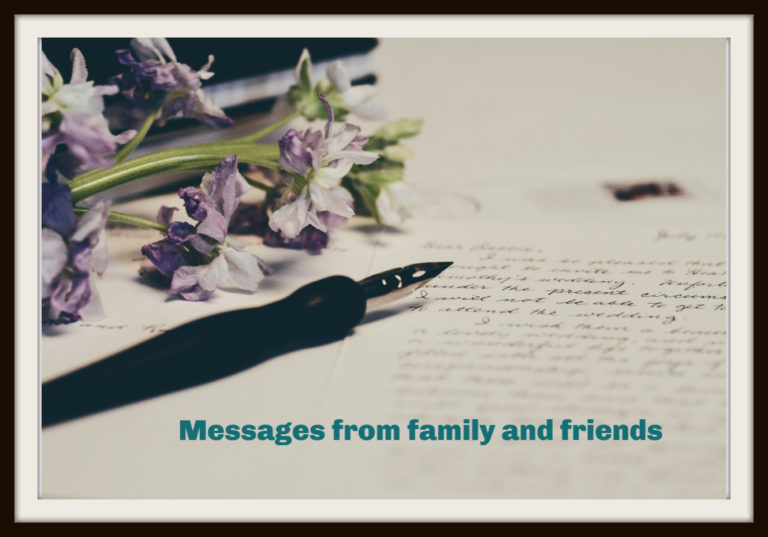 Pennine Lodge specialist dementia care home Messages from family and friends